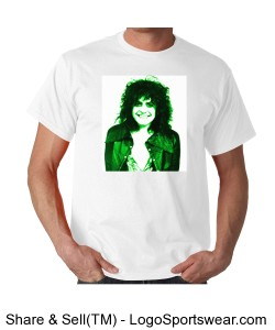 Marc Bolan Green Design Zoom