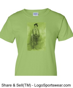 Billy the Kid, Chartreuse Design Zoom